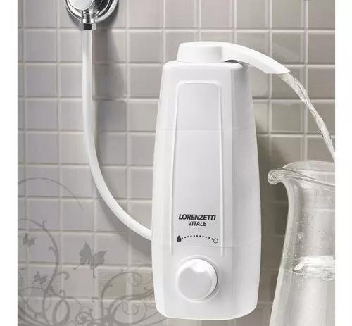 Filtro purificador de agua vitale lorenzetti + refil extra