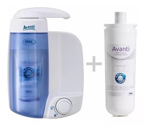 Filtro purificador de água ibbl avanti com refil extra