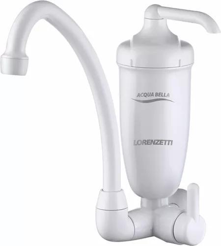 Filtro purificador água c/ torneira lorenzetti acqua bella