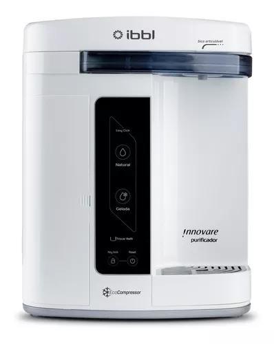 Filtro purificador água gelada innovare branco ibbl