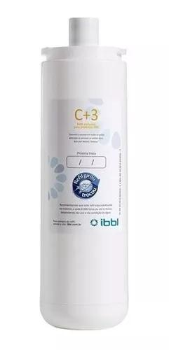 Filtro refil p/ purificador ibbl fr600 evolux atlantis c+3