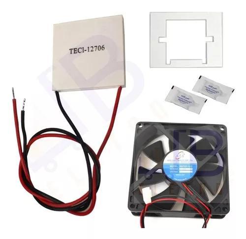 Placa peltier ventilador purificador água electrolux pa20g