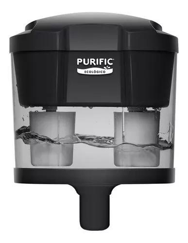 Purific ecológico c/ refil 7 camadas + kit hidráulico