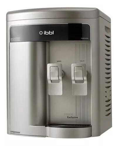 Purificador de agua gelada refrigerado ibbl fr600 exclusive