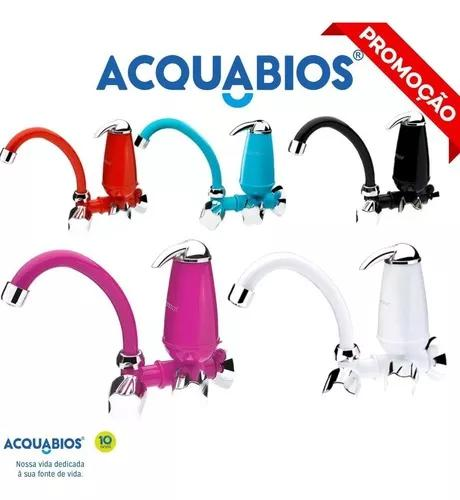 Purificador de água com torneira acquabios colors
