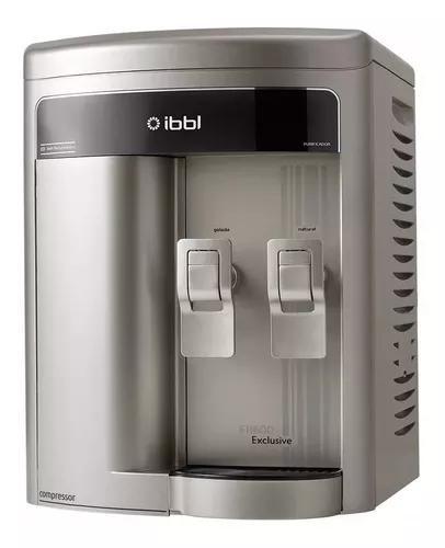 Purificador de água ibbl fr600 exclusive - prata 220v