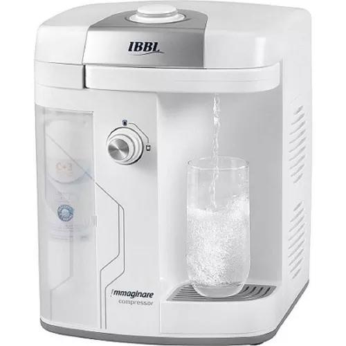Purificador de água ibbl immaginare branco compressor 110v