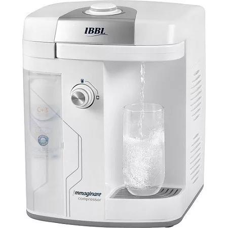 Purificador de água ibbl immaginare branco compressor 220v