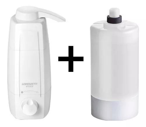 Purificador filtro de água vitale + 1 refil extra