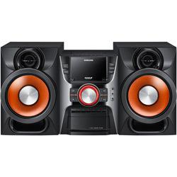 Mini system 200w rms mp3 player 2 entradas usb - samsung