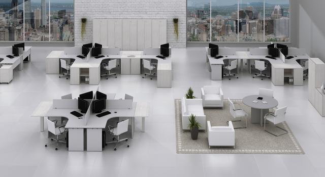 Móveis escritório curitiba paraná | classe a flex