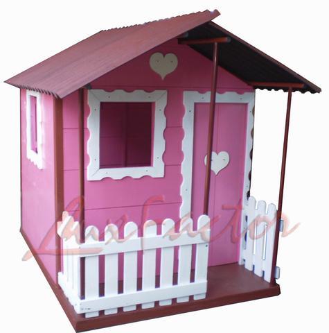 Brinquedo casa de boneca playground parquinho