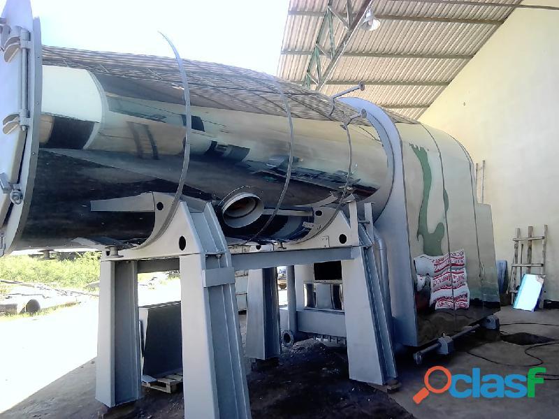 Caldeira 1.500 kg/h mod: aristi / haltfull