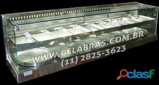 Estufas e vitrines expositoras gelabras