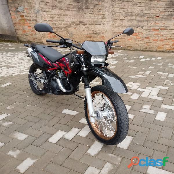 Motocicleta moto yamaha xtz 125k ano 2008