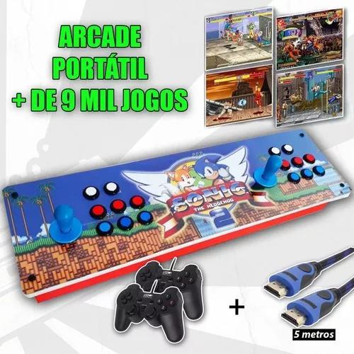 Arcade Portátil Controle - Multijogo 8000 Jogos