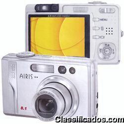 Câmera digital airis photostar dc80 ccd 8,1 megapixels
