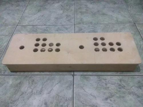 Caixa controle arcade duplo