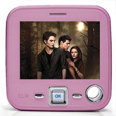 Celular com tv mp10 cubo rosa 11.0 megapixels 12x r$ 36,54