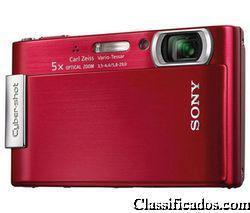 Câmera digital sony cybershot t200 8.1mp frete grátis