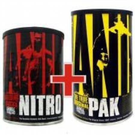Combo animal pak + nitro pak