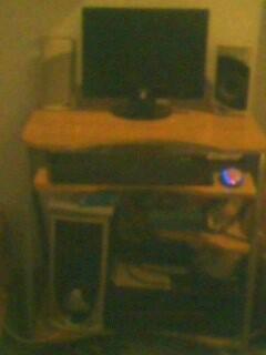 Computador completo monitor lcd 17 philips + mesa p. o pc