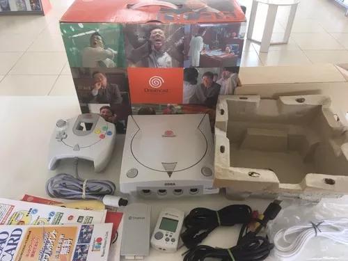 Console dreamcast japones na caixa - usado - madgames