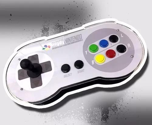 Controle arcade fliperama 7000 jogos - snes 1p