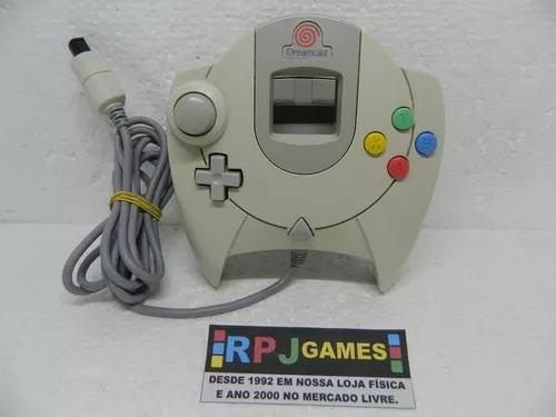 Controle original p/ sega dreamcast - loja centro do rj