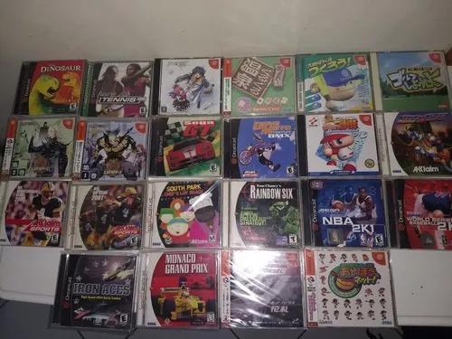 Dreamcast jogos originais voce escolhe 1 americano e 1 jp