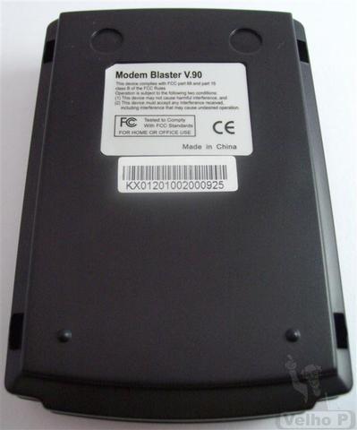 Fax modem externo usb 56k v.92