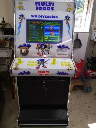 Fliperama multijogos pandora box 9 1600 jogos wa diversoes