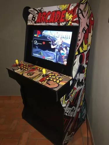 Fliperama tela gigante 26'' arcade video game