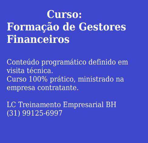 Gestão financeira/custos para empresas