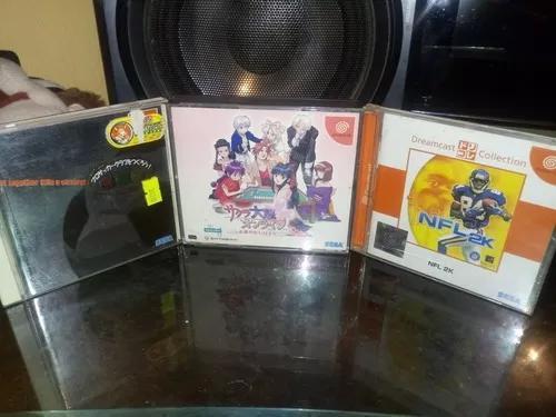 Lote 3 jogos japoneses dreamcast