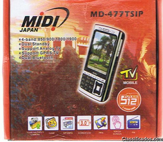 Midi japam md477tsip mp7 3.0 camera