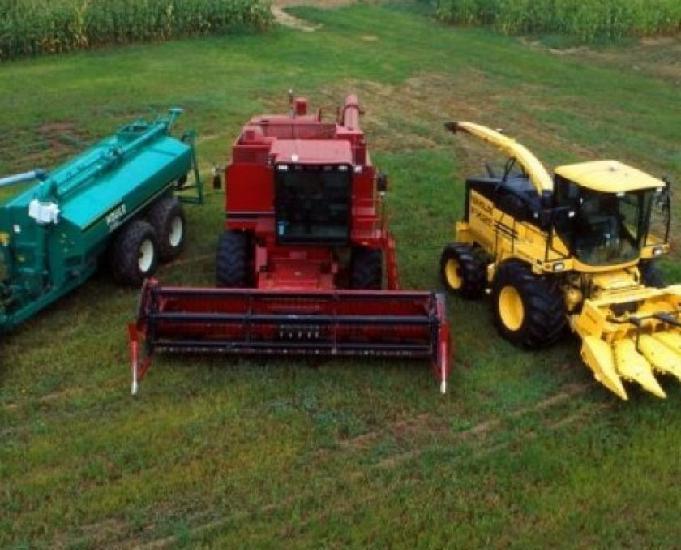 Maquinas agrícolas e equipamentos