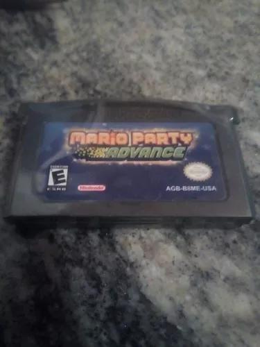 Mario party advance - game boy advance - g b a - frete 7,00