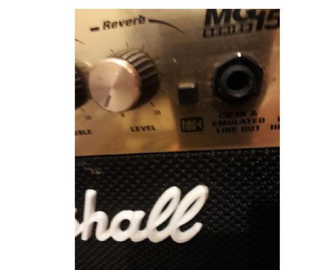 Marshall 15 watts amplificador de guitarra