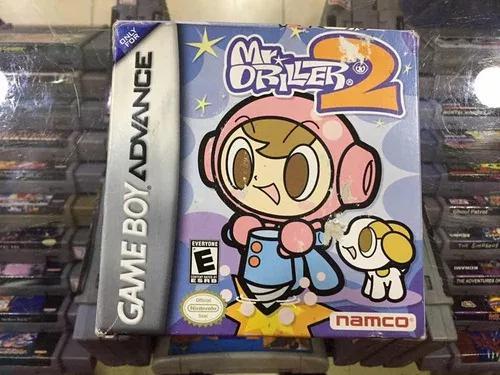 Mr. driller 2 - gba original completa na caixa
