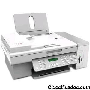Multifuncional lexmark x5495 com fax copiadora - jato de