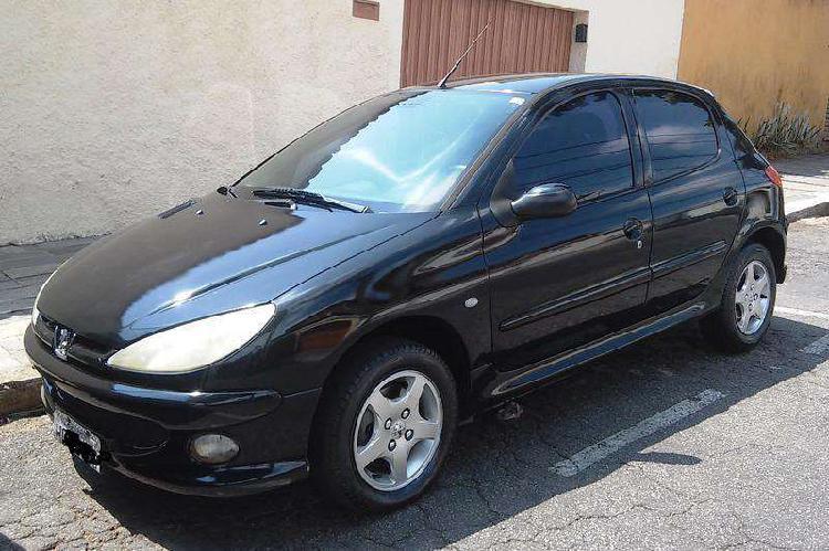 Peugeot 206 techno/ feline 1.6/ 1.6 flex 16v 5p