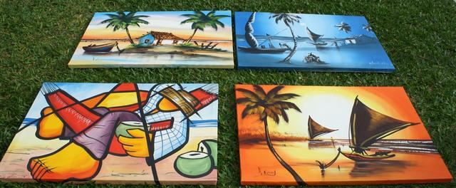 Pinturas e telas