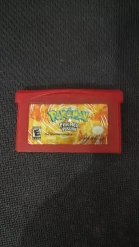 Pokémon fire red gba original