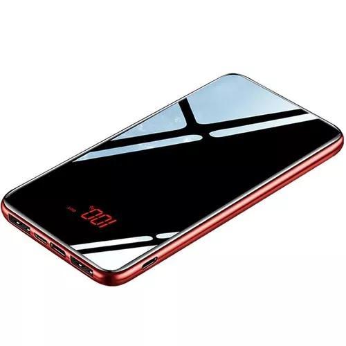 Portátil dual usb led digital exibição poder banco móvel