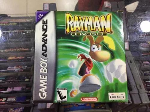 Rayman advance - gba original completo na caixa