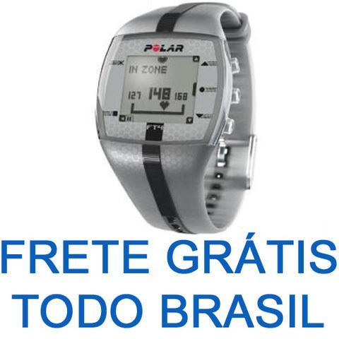 Relógio monitor cardíaco polar ft4 m - frete grátis todo