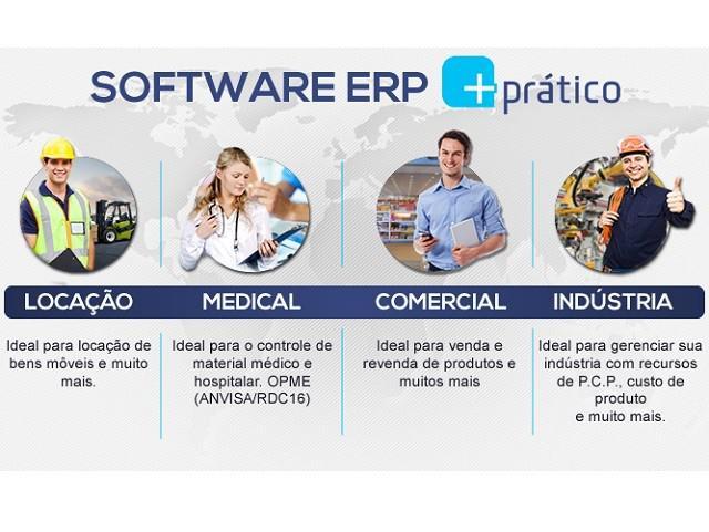 Software comercial para pequenas e médias empresas