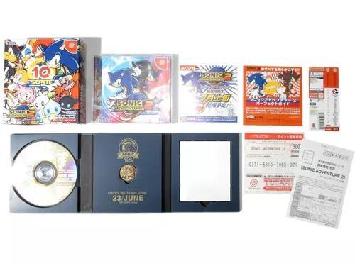 Sonic Adventure 2 Birthday Pack Original Para Sega Dreamcast