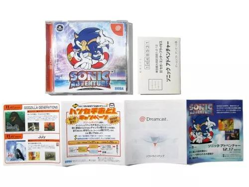 Sonic adventure original para dreamcast